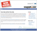 NowHiring Now Known as SnagAJob