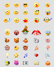 Trillian Emoticons